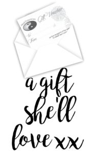 skincare beauty products gift voucher